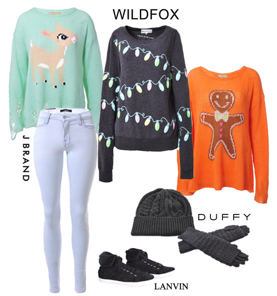 wildfox christmas sweaters new in morgan clare womens wear ...
