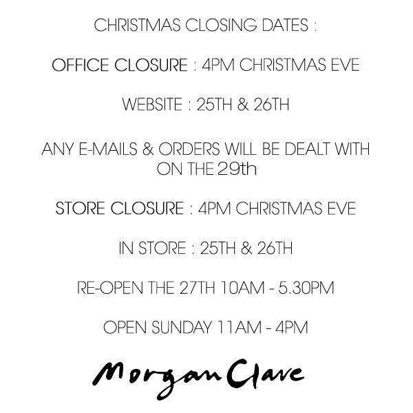 CLOSING DATES CHRISTMAS new