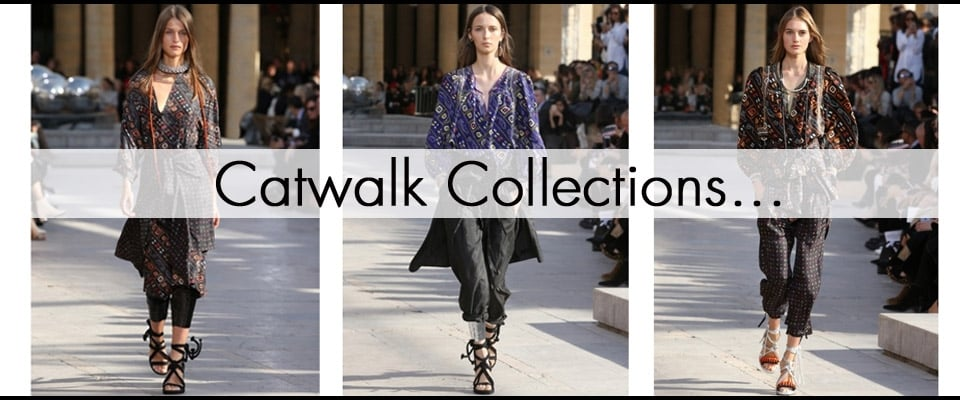 Shop Catwalk collections, Isabel Marant, Peter Pilotto