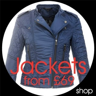Final Reductions, Sale Jackets From £69