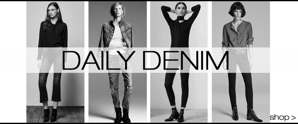 Daily Denim From Designers you love J Brand, Citizens, Paige, Hudson