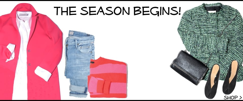 The Season Begings With Designers you love, shop womens new collections online