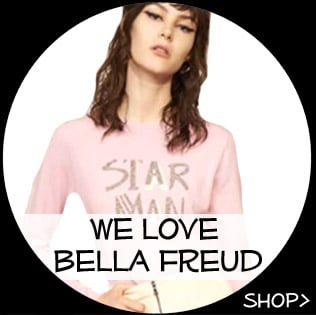 We Love Bella Freud musth vae knitwear, Cashmere jumpers, wool knit sweaters, shop now