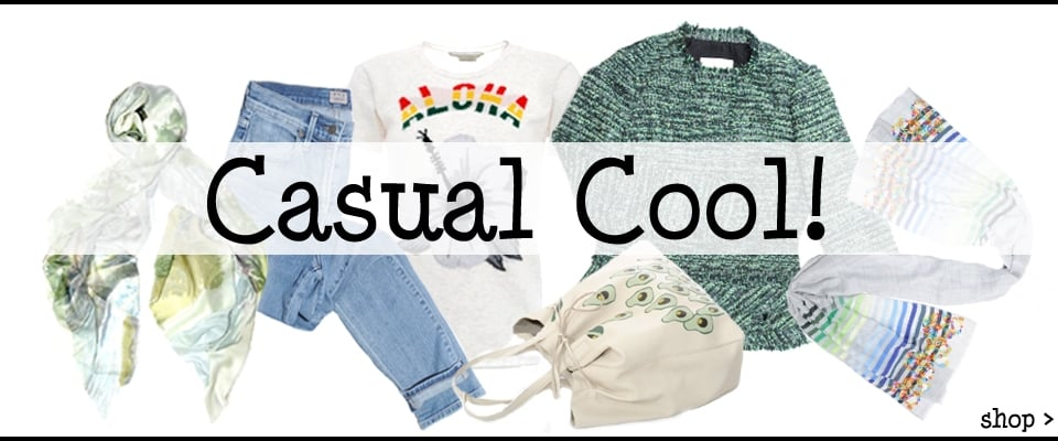 Casual Cool With Designers You Love, Shop New In Collections