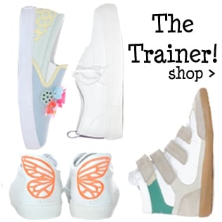 The Trainer, A must have wardrobe staple, shop now