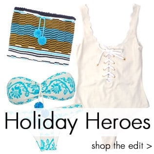 Holiday Heroes From Designers you love! Shop the edit now