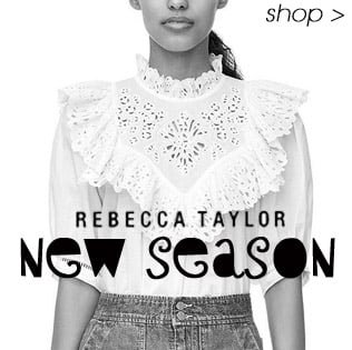 New Season Rebecca Taylor, Shop the collection now online