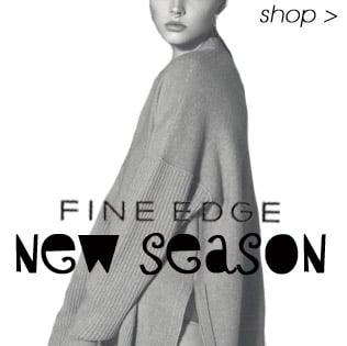 New Season New Brand Fine Edge, Wool and Cashemre Knitwear, Shop now online