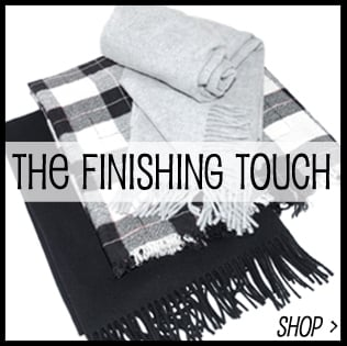 The Finishing Touch, Cashmere Scarves, Knitted Hats, Bags, Jewellery designers you love