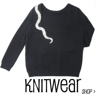 Must have knitwear from designers you love, cashmere jumpers, wool sweaters