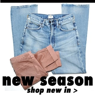 new season denim from J Brand, Hudson, Citizens Of Humanity, Paige shipping worldwide