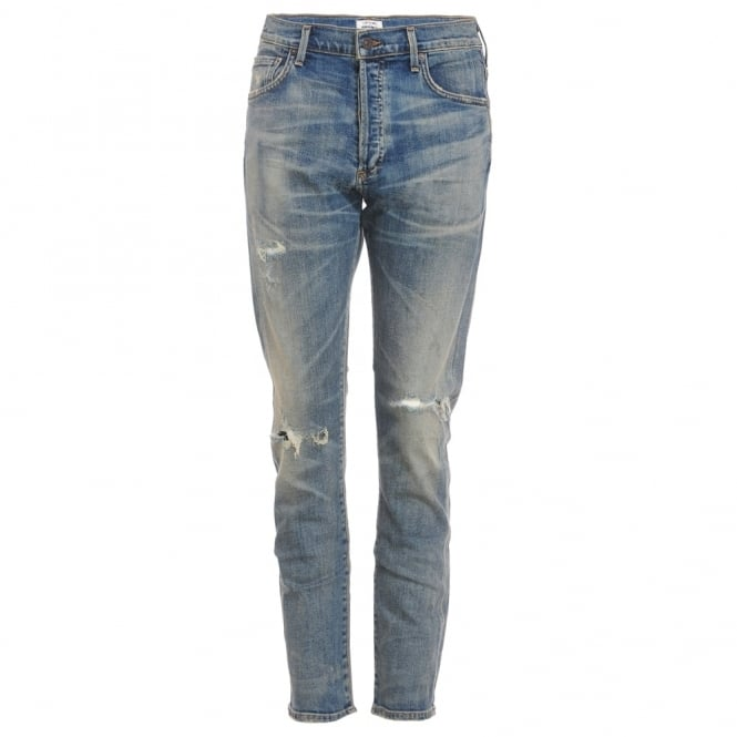 Corey Distressed Boyfriend Jean