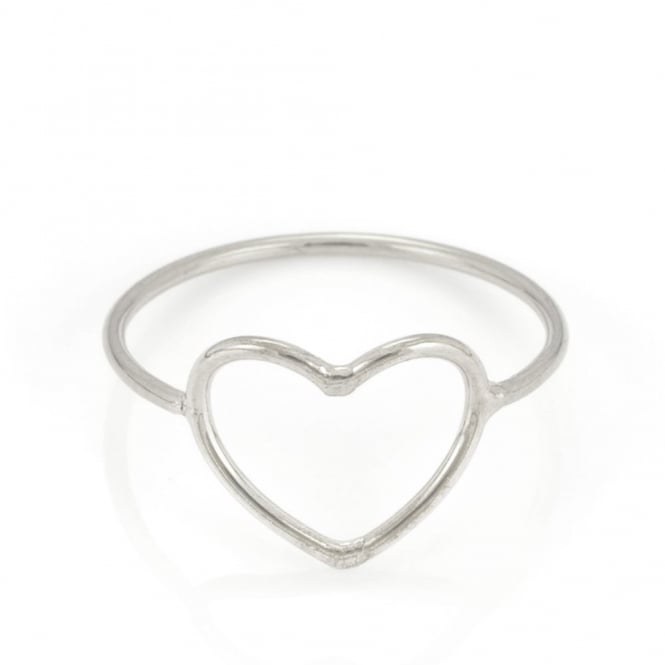 Written Heart Ring