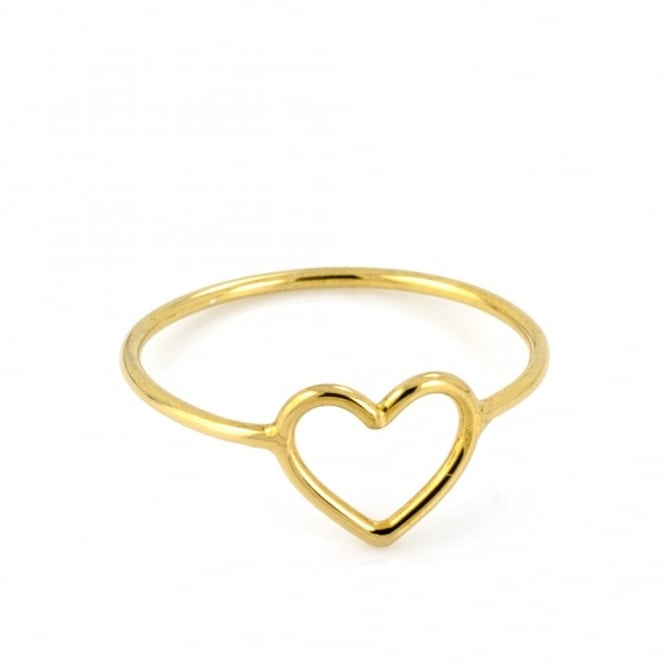 Written Tiny Heart Ring