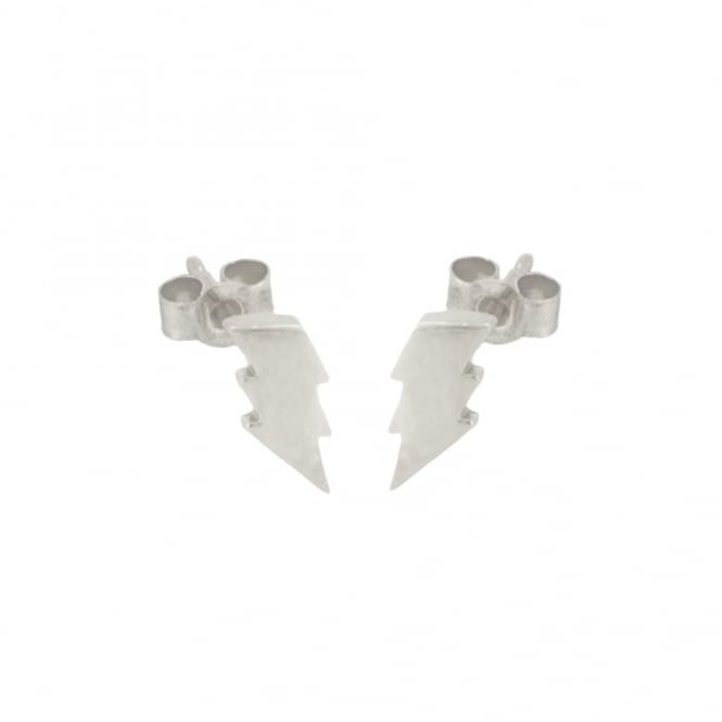 Lightning Stud Earring