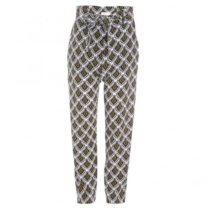 Ansel Print Trousers
