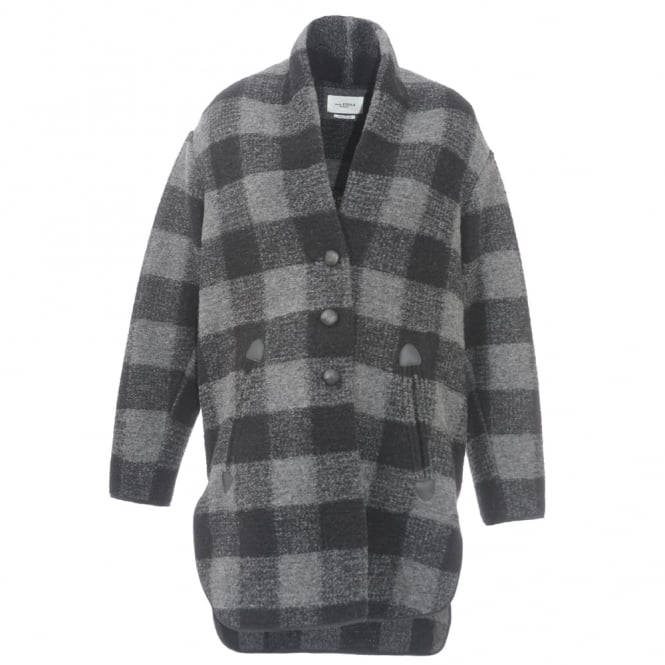 Gino Check Coat