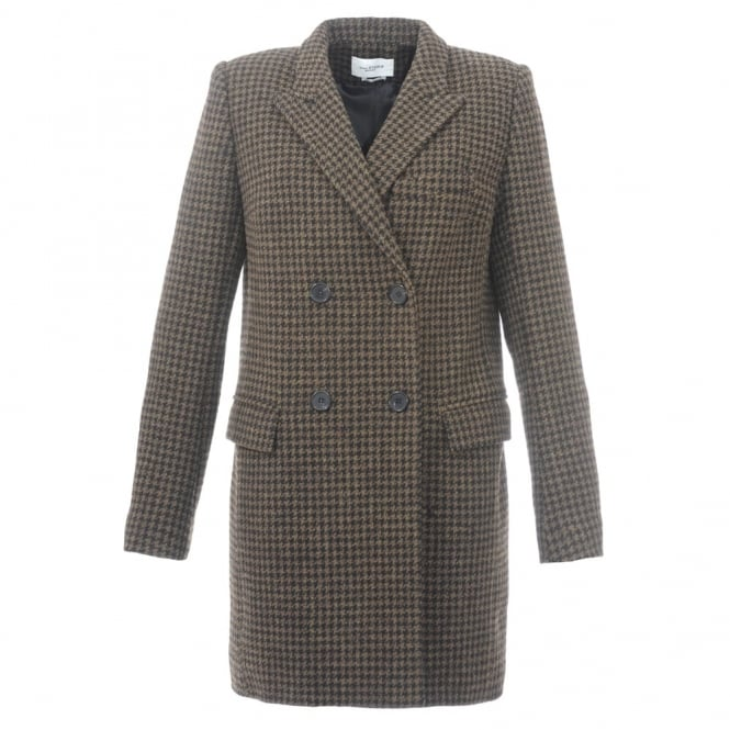 Iken Houndtooth Coat