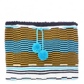 Sophie Anderson Lia Stripe Clutch Bag