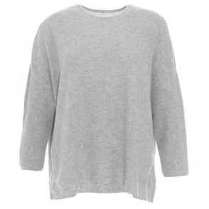 Oyuna Grey Boxy Sweater