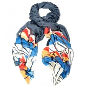 Stella McCartney Feather Scarf
