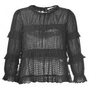 Etoile Isabel Marant Ykaria Frill Top
