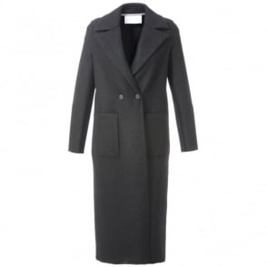 Harris Wharf London Black Duster Coat