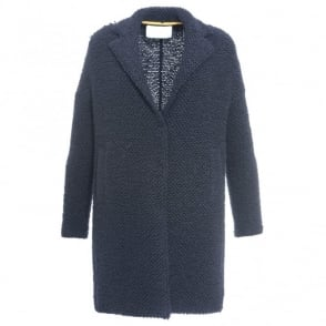 Harris Wharf London Bubble Button Coat