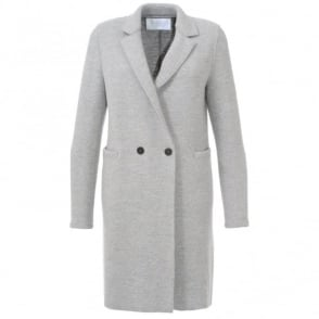 Harris Wharf London Fleck Button Coat