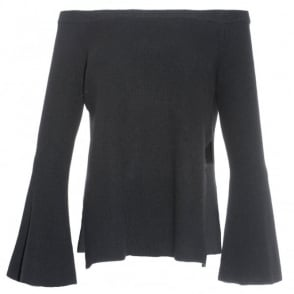 Robert Rodriguez Off Shoulder Sweater