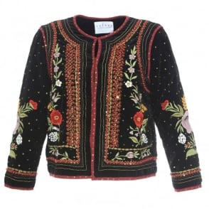 Velvet Adara Embroidered Jacket