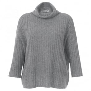 Repeat Cashmere Rib Sweater