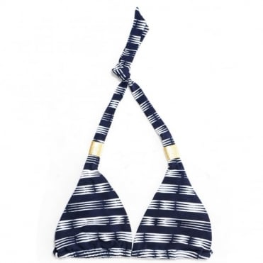 Heidi Klein Carolina Stripe Bikini Top