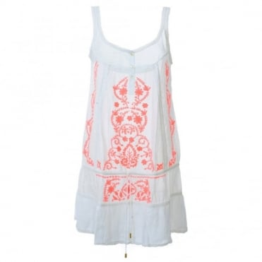 Melissa Odabash Jaz Embroidered Dress
