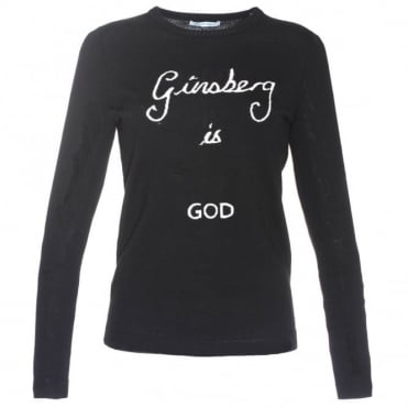 Bella Freud Ginsberg Is God Sweater