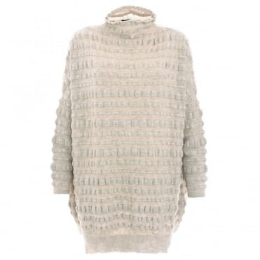 Oyuna Textured Knit Tunic