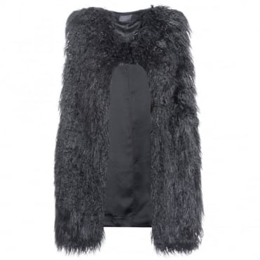 Theory Nyma V Faux Fur Jacket