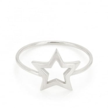 Laura Gravestock Written Star Ring