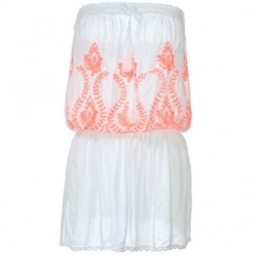 Melissa Odabash Fruley White Beach Dress