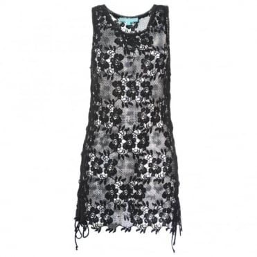 Melissa Odabash Barrie Lace dress