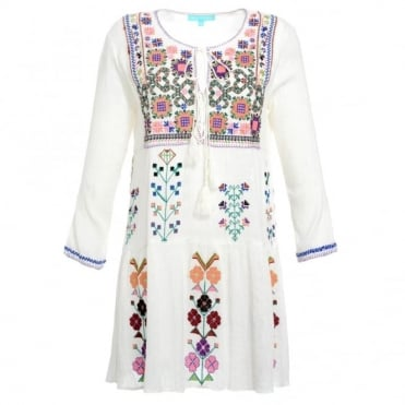 Melissa Odabash Millie Embroidered Kaftan