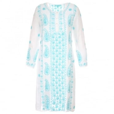Melissa Odabash Tanya Embroidered Dress
