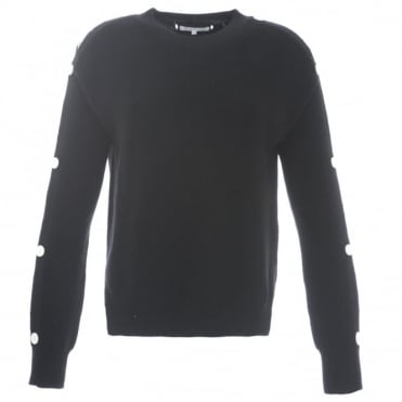 Helmut Lang Button Sleeve Sweater