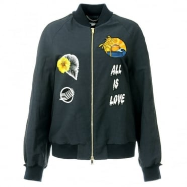Stella McCartney Lorinda Bomber Jacket