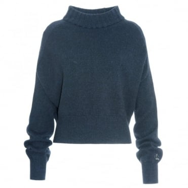 Queene & Belle Alexandra Navy Sweater