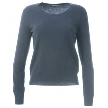 Repeat Scoop Neck Cashmere Sweater