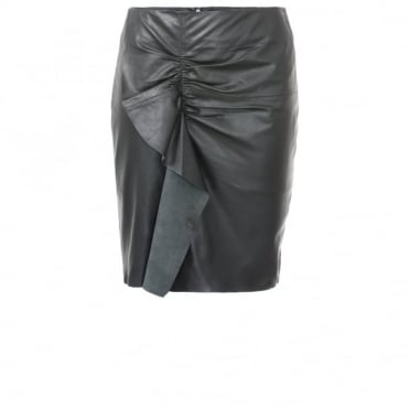 Designers Remix Erin Leather Skirt