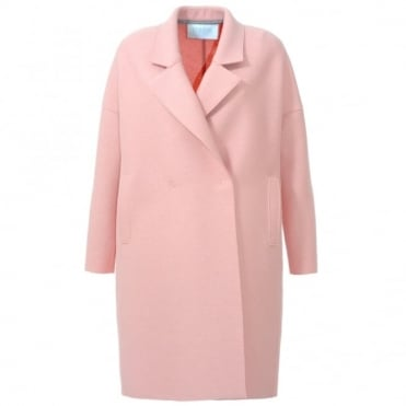 Harris Wharf London Oversize Pink Coat
