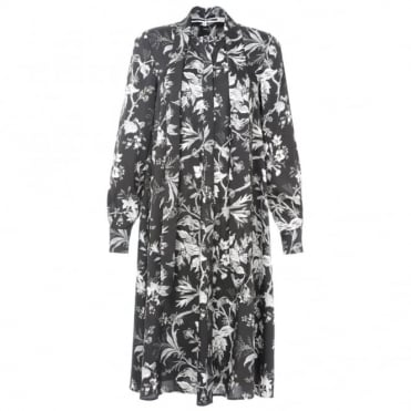 McQ Alexander McQueen Printed Midi Dress