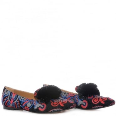 Aquazzura Wild Tapestry Loafer